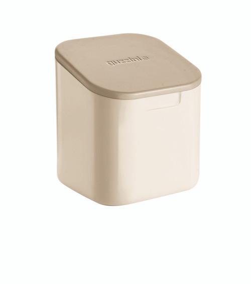 Pale Clay 'Not Only Salt' Storage Jar