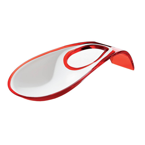 Red Two-Tone Ladle Rest