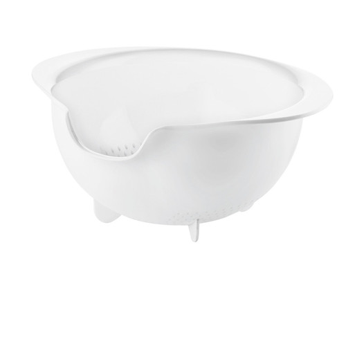 White Easy Pour Colander