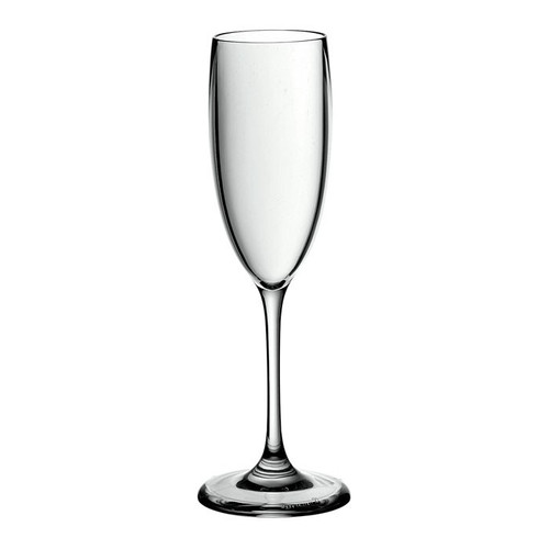 Set of 12 Unbreakable Champagne Flutes