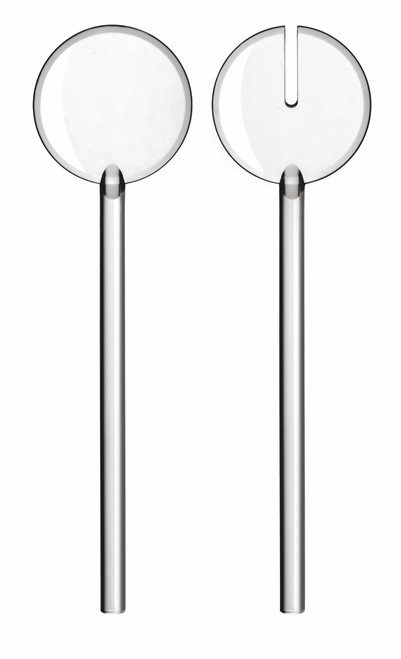 Tiffany Transparent Salad Servers