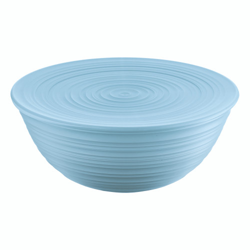 Powder Blue Extra Large Bowl with Lid