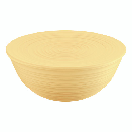 Mustard Yellow Extra Large Bowl with Lid