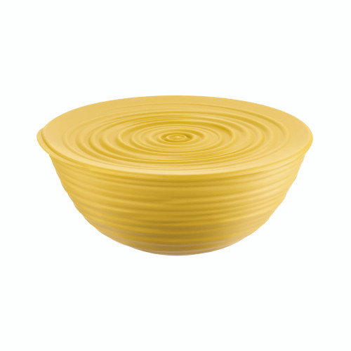 Mustard Yellow Large Bowl with Lid