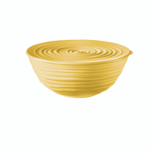Mustard Yellow Medium Bowl with Lid