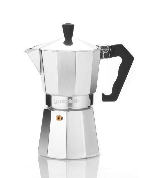 Romeo 6 Cup Aluminium Moka Coffee Maker