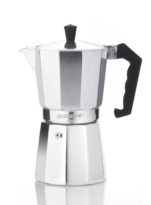 Romeo 9 Cup Aluminium Moka Coffee Maker