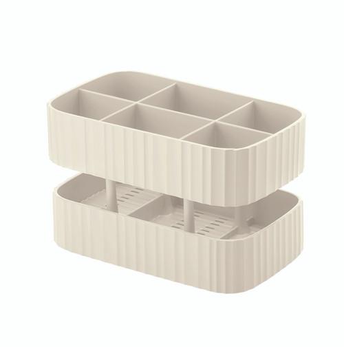 Drain & Safe White Cutlery Drainer