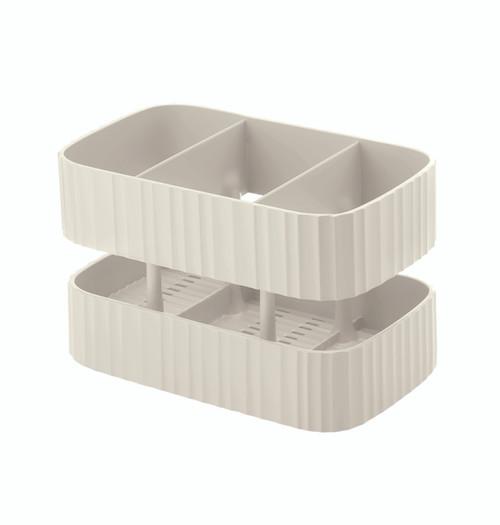 Tidy & Safe White Sink Tidy