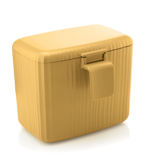 Bio Wasty Mustard Yellow Food Waste Caddy