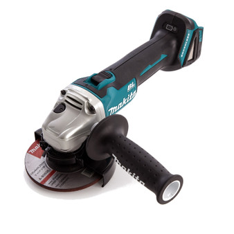 "Makita LXT Brushless 18V Lithium Ion Cordless 4-1/2"" Angle Grinder  DGA454Z"