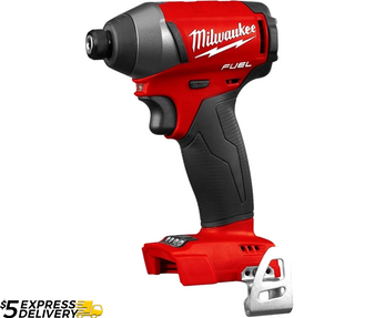 "Milwaukee Impact Driver Heavy Duty Fuel M18 Brushless 1/4""  M18FID 2753-20"