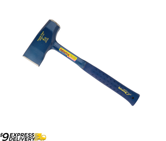 "Estwing 14"" 1.8KG Fireside Friend Wood Splitting Axe Shock Reduction Grip E3-FF4"