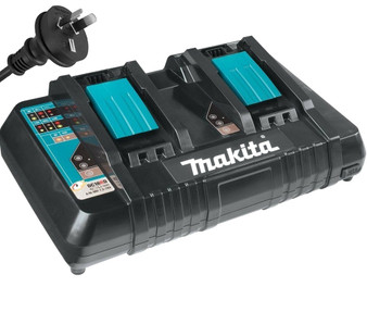 Makita GENUINE Battery Charger Dual Fast Lithium Ion 14V -18V 1.5-6Ah  DC18RD