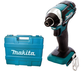 "Makita 18V Lithium Ion Cordless 1/4"" Hex Impact Driver & Case  DTD152"