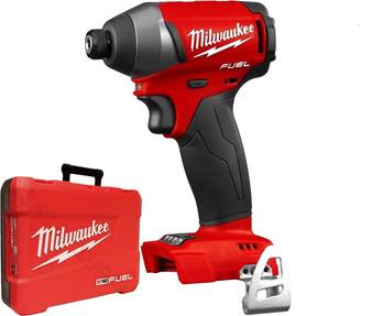 "Milwaukee M18 FUEL Brushless 1/4"" Impact Driver & Case  M18FID-0 2753-20"