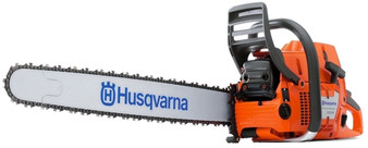 "Husqvarna 2-STROKE Petrol Chainsaw 24"" Bar & Chain 88CC 6.5HP 390XP"