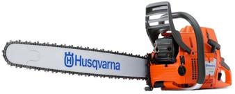 "Husqvarna 2-STROKE Petrol Chainsaw 24"" Bar & Chain 88CC 6.5HP 390XP"
