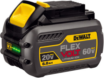 Dewalt Genuine XR Flexvolt 18V 20V 54V 60V 6Ah Lithium Ion Battery  DCB606