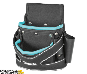 Makita Nylon 2 Pocket Fixing Pouch T-02107