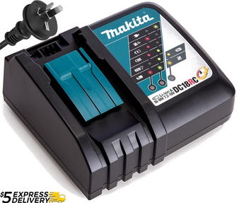 Makita GENUINE Battery Charger Fast Lithium Ion 14V -18V 1.5-6Ah  DC18RC