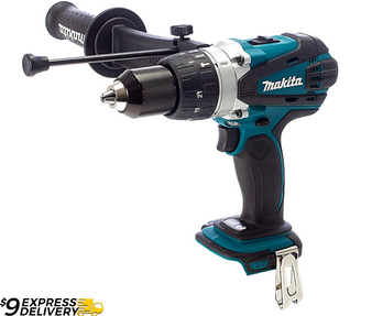 "Makita Powerful Drill Hammer Driver Cordless 18V Lithium Ion 1/2""  DHP458Z"
