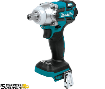 "Makita 18V Brushless 3-Speed 1/2"" Square Drive Impact Wrench  DTW285 XWT11"