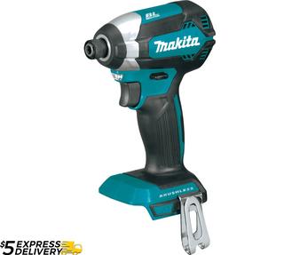 """Makita Impact Driver 18V 1/4"""" Brushless  DTD153Z XDT13"""