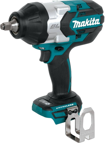 """Makita Impact Wrench 18V Brushless Powerful 1/2"""" Square Drive  DTW1002Z XWT08"""