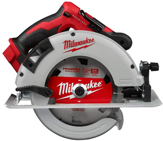 Milwaukee Brushless Circular Saw 18V Cordless 184mm  M18BLCS66-0 2631-20