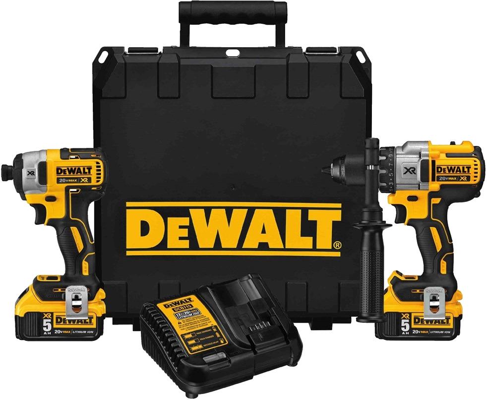 Dewalt Drill Best 1 Xr Brushless 20vmax5ah Impact Driver Kit Dcd996 Dcf887 Austoolsupply
