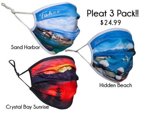 Pleat 3 Pack