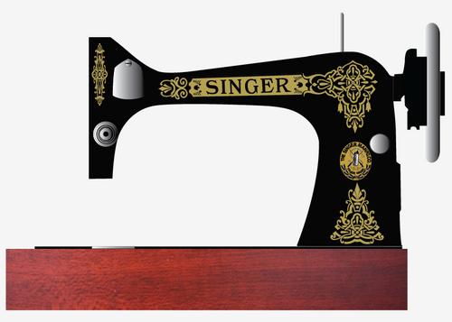 Singer 27 127 Decals for Restorations Celtic Design  SingerDecals.com