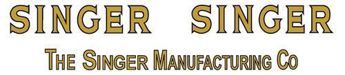 Singer 306 Sewing Machine Restoration Decals  SingerDecals.com