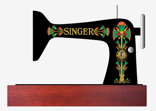 Singer 66 Lotus Restoration Decals