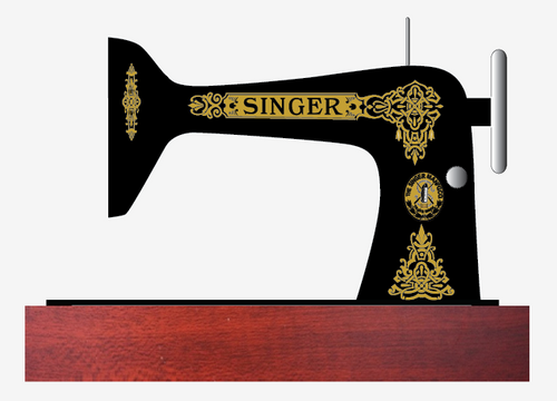 Singer 66 Class Decals for Restorations Celtic Variation  SingerDecals.com