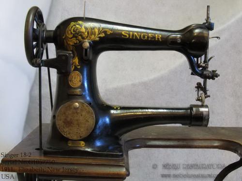 Singer Model 18 Restoration Decals