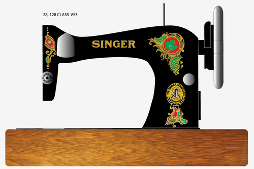 Singer 28/128 Decals for Restorations LaVincendora
