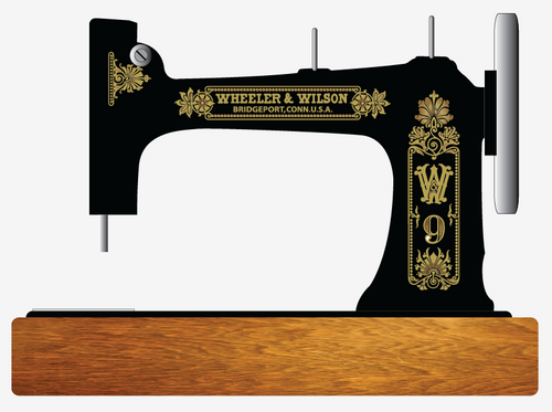 Wheeler Wilson W9 Restoration Decals