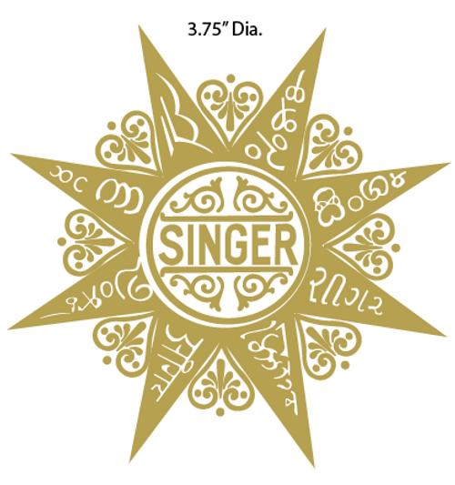 Singer 99 Restoration Decal
