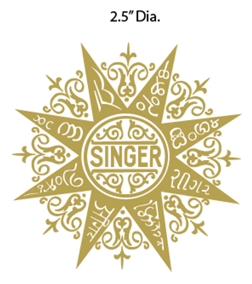 Indian Star Decal
