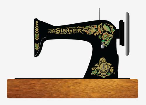 Singer Model 15 Restoration Decals