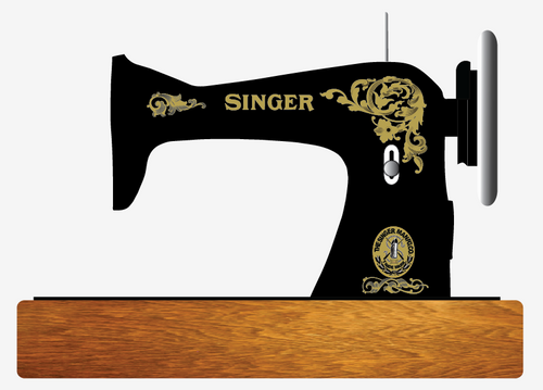 Singer Model 15 Restoration Decals