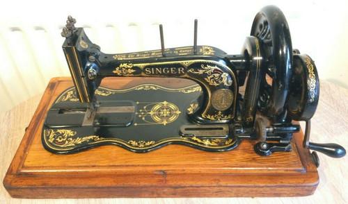 Singer 12K Restoration Decals