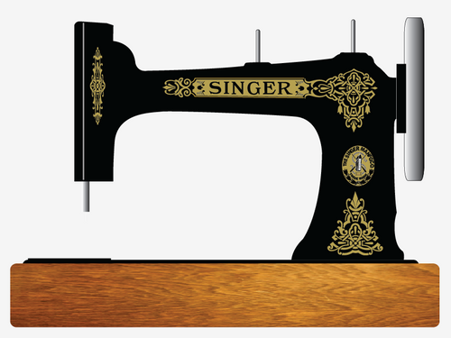 Singer 9W Celtic Restoration Decals  SingerDecals.com