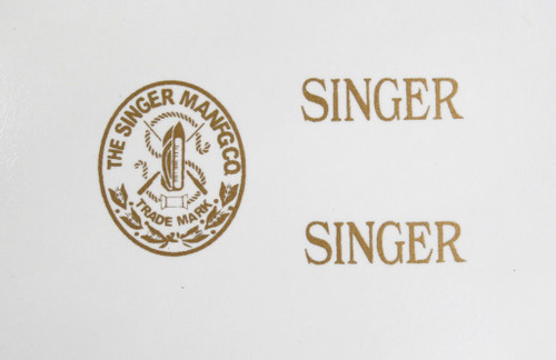 Singer 20 Toy Sewing Machine Restoration Decals  SingerDecals.com