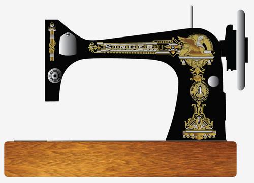 Singer 27 127 Decals for Restorations Sphinx Design 3 Color  SingerDecals.com