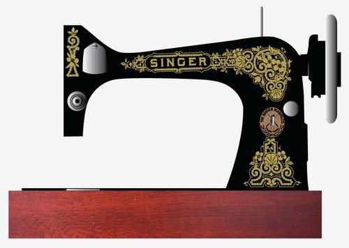 Singer 27 Tiffany Restoration Decals