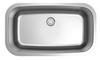Dakota Genesis Series 32x18 18g ADA Single Bowl Stainless Steel Sink