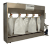 Weha Sludge Dehydrator 5 Bag System for Stone Sludge